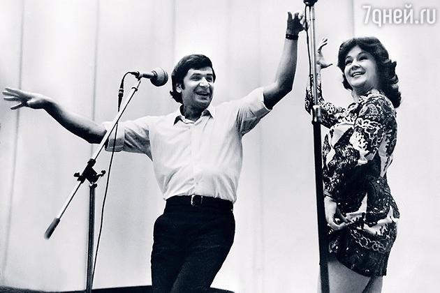 Наталия Защипина с Борисом Кумаритовым