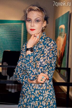 Рената Литвинова на поэтическом вечере в одной из московских галерей. 2012 г.