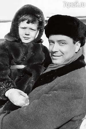 Вячеслав Соколов с сыном