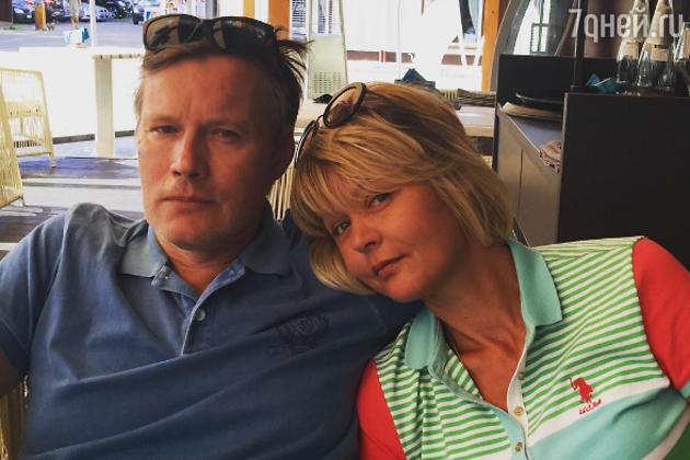 Юлия Меньшова с мужем Игорем Гординым