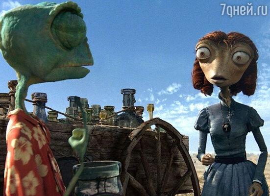 «Лучшим анимационным фильмом» был признан  «Ранго», главную роль в котором озвучил Джонни Депп