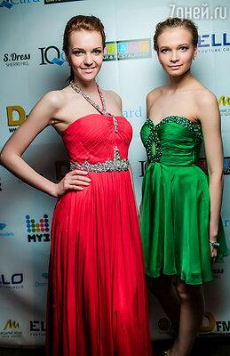 Модели в платьях от шоу-рума «S.Dress»