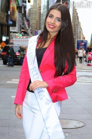 Участница конкурса красоты «Мисс Вселенная-2013» Эльмира Абдразакова
