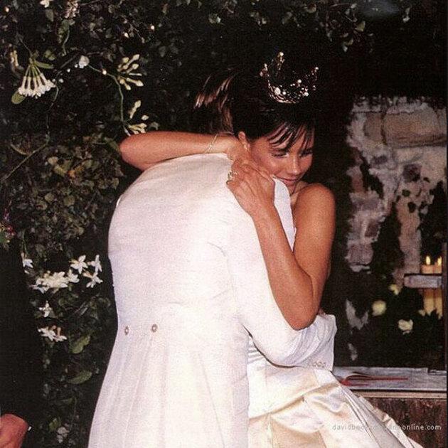 Свадьба  Дэвида и Виктории  Бэкхем