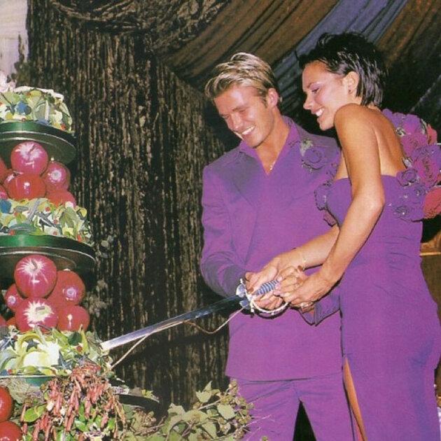 Свадьба  Дэвида и Виктории  Бекхем