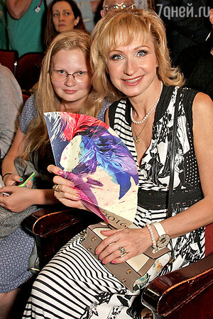 Ольга Прокофьева с племянницей