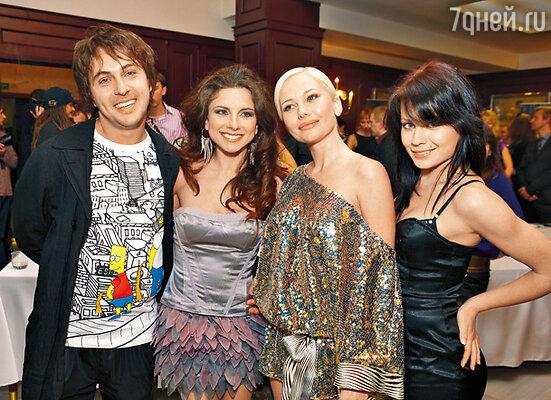 Победители в номинации «Секс» — группа «Винтаж» и Елена Корикова