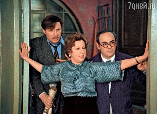 «Покровские ворота». С Инной Ульяновой и Виктором Борцовым. 1982 г.