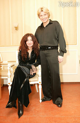 Николай Басков и Светлана Шпигель. 2003 год
