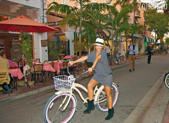 «Я влюбилась в Майами. У меня появились любимые места — бары, закусочные, магазины...»