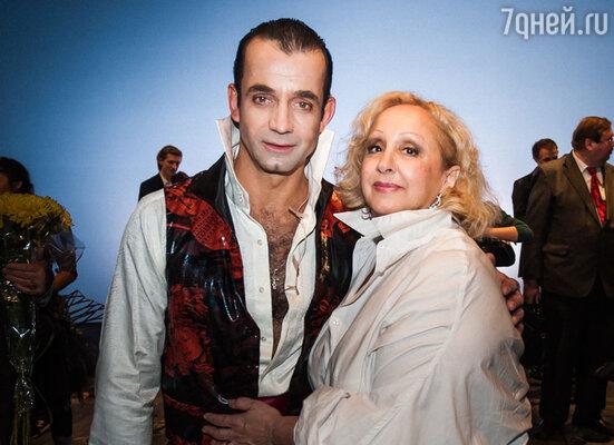 Лора Квинт и Дмитрий Певцов
