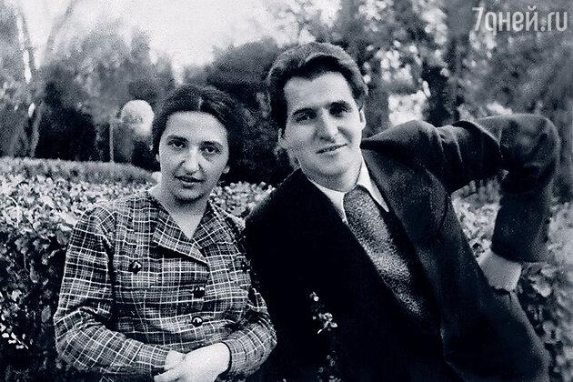 Константин Симонов и Евгения Ласкина