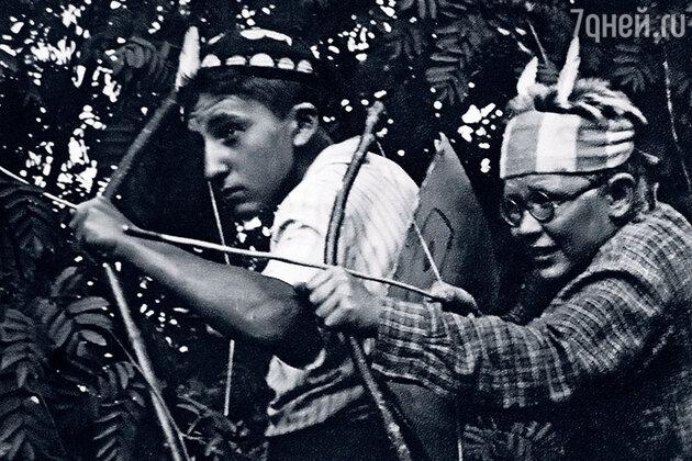 Алексей Симонов и Анатолий Серов