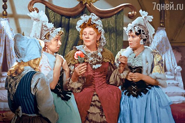 Фаина Раневская. Кадр из фильма «Золушка». 1947 г.