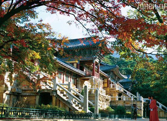 Пулгукса — один из многочисленных буддийских храмов — охраняется ЮНЕСКО