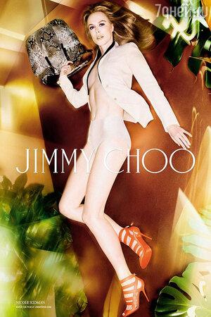 Креативный директор марки Сандра Чой призналась, что как всегда довольна работой Кидман