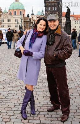 «Прага для нас с Колей особенный город.Здесь прошел наш медовый месяц, вернее, неделя...»