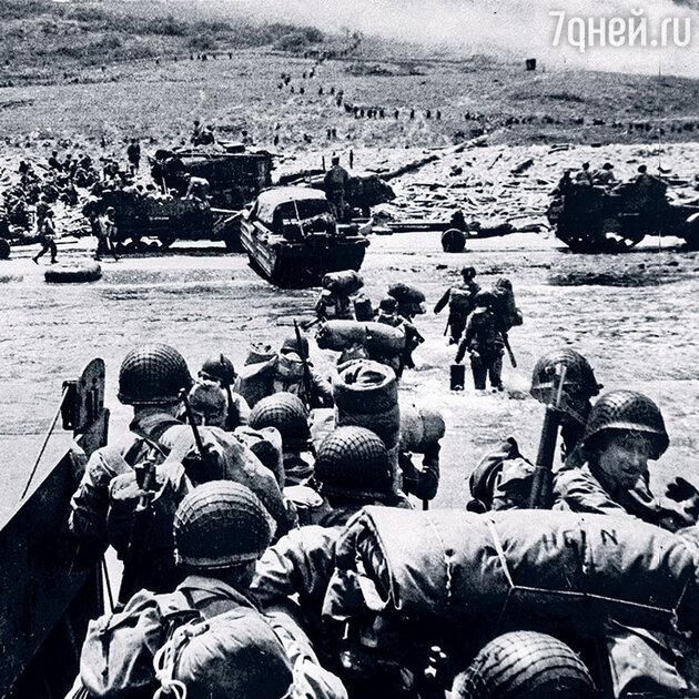 Высадка союзников в Нормандии