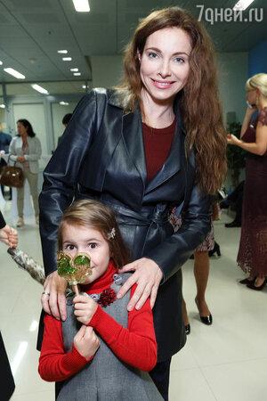 Екатерина Гусева с дочкой Аней