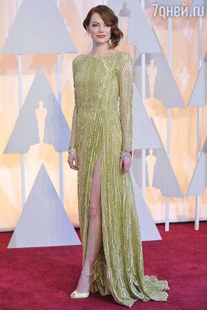 Эмма Стоун в Elie Saab Couture