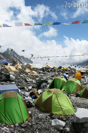 Эверест , кэмпинг