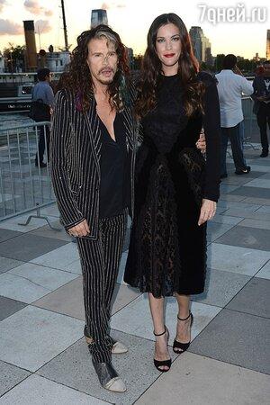 Стивен Тайлер с дочерью