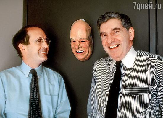 Одни из главных героев этой эпопеи: Строуб Тэлботт (слева) и Джерри Шектер