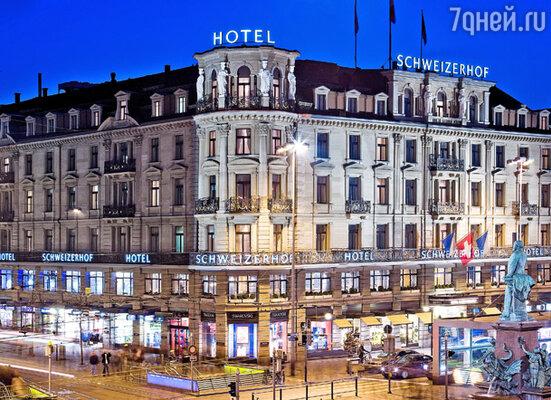 Виды отеля «Schweizerhof»