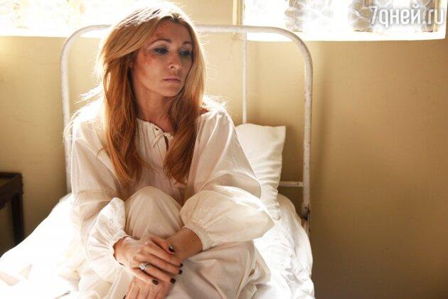 Анжелика Агурбаш на съемках клипа на песню «Черная вуаль»