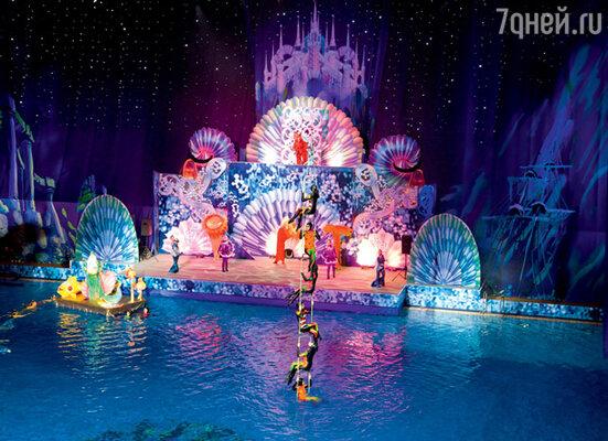 Новогоднее представление на воде понравилось всем без исключения