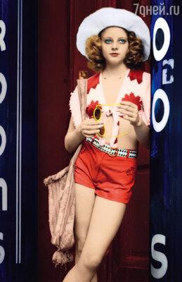 В роли проститутки в знаменитом фильме Мартина Скорсезе «Таксист». 1976 г.