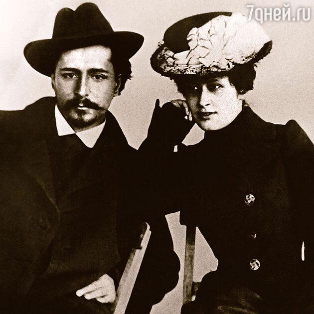 Леонид Андреев и Александра Велигорская