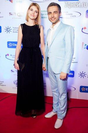 Василий Соловьев с супругой