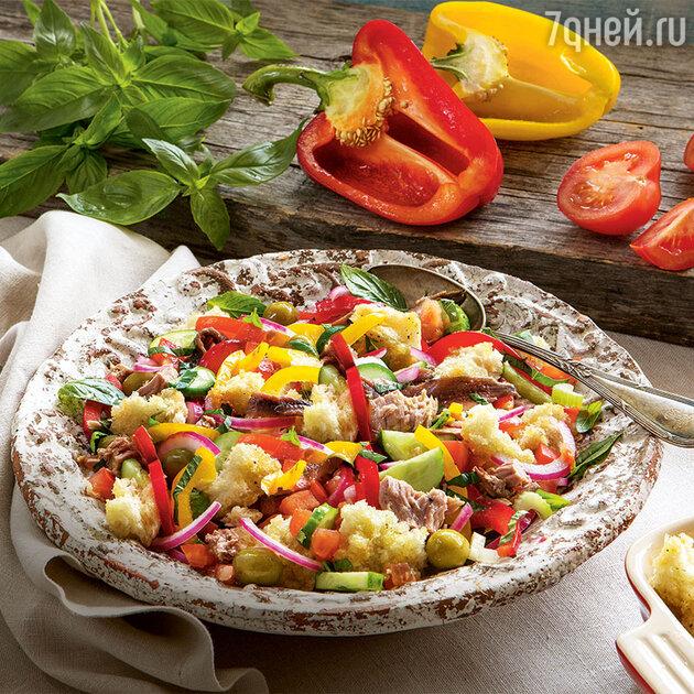 Летний итальянский салат