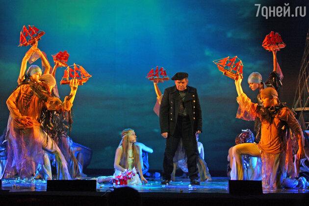 Сцена из мюзикла «Алые паруса»