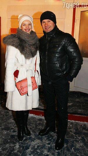 Алиса Гребенщикова и Алексей Немов
