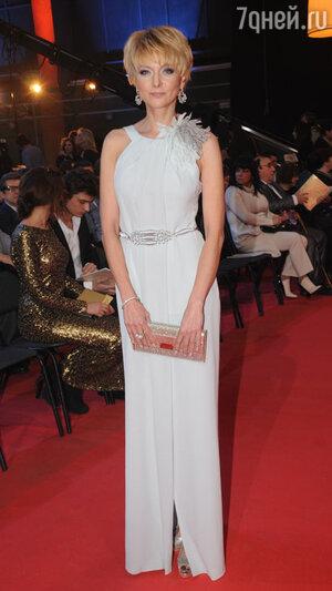 Дарья Повереннова на вручении  премии «Золотой орёл», 2012 год