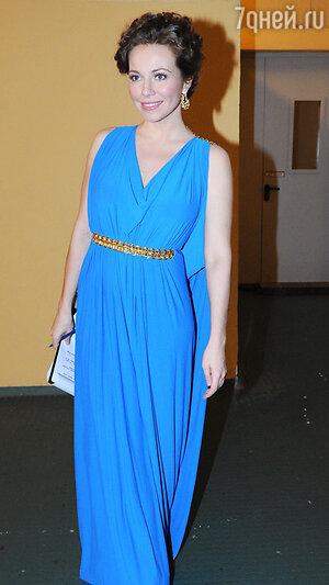 Екатерина Гусева на вручении  премии «Золотой орёл», 2011 год