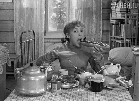 Кадр из фильма «Девчата».  1961 год