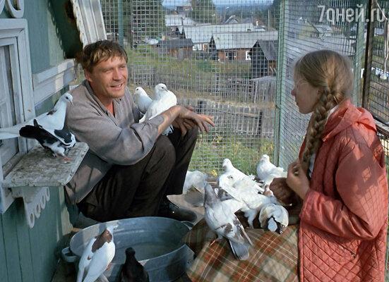 Кадр из фильма «Любовь и голуби». 1981 год