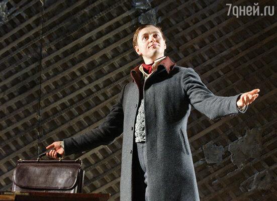 Спектакль «Похождение, составленное по поэме Н.В.Гоголя «Мертвые души» («Табакерка», на большой сцене МХТ им.Чехова)