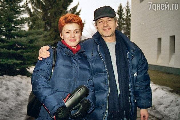 Игорь Ливанов с женой Ольгой