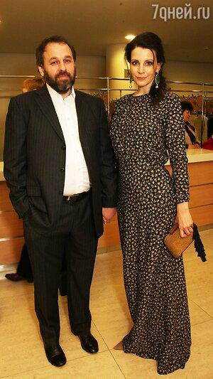 Евгения Крюкова с мужем Сергеем