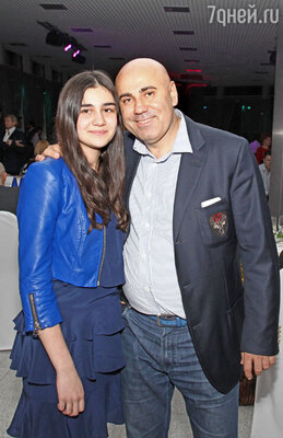 Иосиф Пригожин с дочерью Данаей