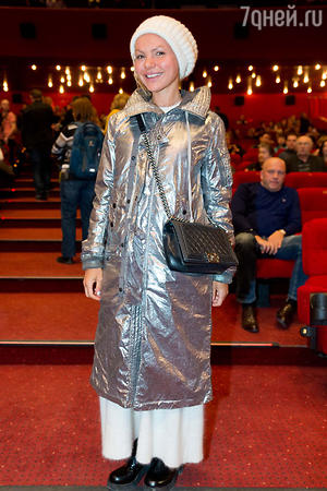 Маша Цигаль  на премьере фильма «Вий»