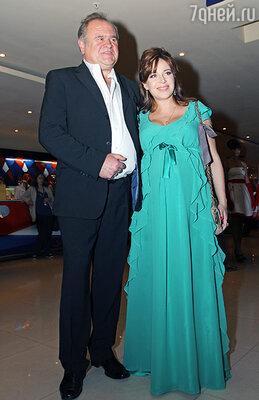 Екатерина Редникова с мужем Сергеем Коновым