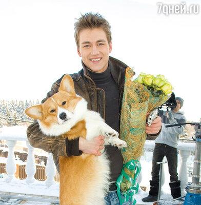 Любимый пес — самый преданный поклонник Воробьева