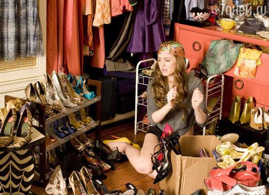 В роли Ребекки Блумвуд . «Шопоголик»,  2009 год