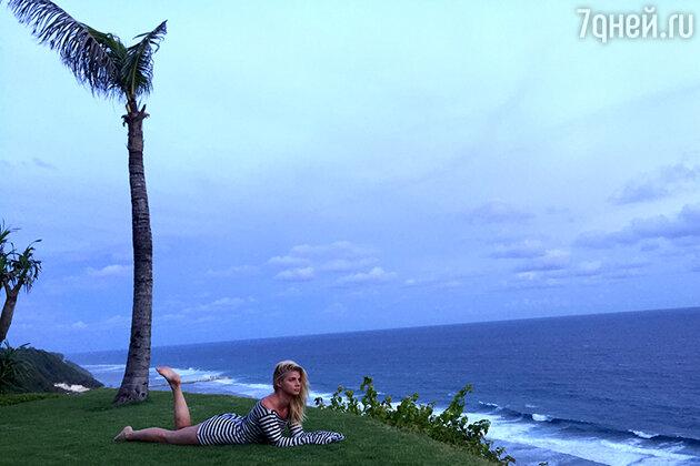 Анастасия Задорожная на Бали