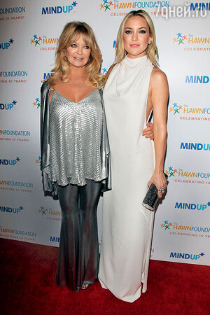 Голди Хоун с дочерью Кейт Хадсон